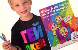 Un livre de coloriage sur l'homosexualité pour les enfants russes
