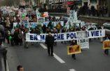 En direct de la Marche pour la Vie à Paris