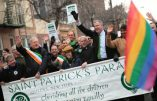Pour la St Patrick, le maire de New York défile avec le lobby LGBT