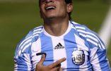 Le tatouage du Christ couronné d'épines du footballeur argentin Juan Manuel Iturbe