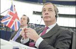 """""""Avec l'Union européenne, voter ne sert plus à rien"""" (Nigel Farage)"""