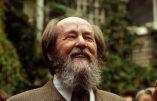 Russie : Alexandre Soljenitsyne mis à l'honneur