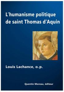 L'humanisme politique St Thomas d'Aquin