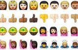Multiculturalisme : Apple proposent des émoticônes ethnicisés