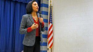 Corinne Narassiguin, porte-parole du PS, sous influence des Etats-Unis
