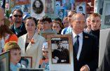 """Russie: Les marches du """"Régiment immortel"""", phénomène de liesse patriotique spectaculaire (Vidéos)"""