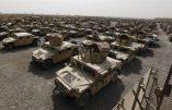 L'Etat Islamique a mis la main sur 2.300 véhicules tout-terrains américains Humvee confiés à l'armée irakienne