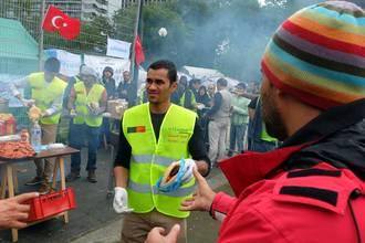 aid parc maximilien drapeaux turcs