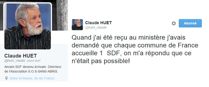 tweet claude huet