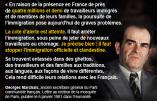 """""""La cote d'alerte est atteinte (…) il faut stopper l'immigration officielle et clandestine"""" – Citation de Georges Marchais, ancien secrétaire général du PCF"""