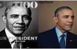 Barack Obama devient le premier président des États-Unis vanté sur une couverture d'un magazine LGBT