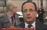 Hollande, le pompier pyromane, livre des armes à ceux qu'il prétend combattre – Vidéo France2