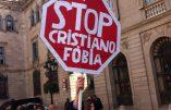 Rassemblement contre le blasphème à Barcelone