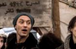 L'acteur Jude Law fait son show à Calais mais n'accueillera aucun immigré chez lui