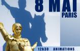 Le 8 mai 2016, tous au défilé Ste Jeanne d'Arc