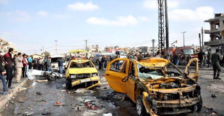 attentat Homs