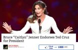 "Le transsexuel Bruce ""Caitlyn"" Jenner fait campagne pour Ted Cruz"