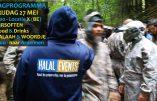 Des salafistes jouent à la guerre dans les bois belges