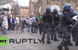 """Bologne : les """"démocrates"""" veulent attaquer un rassemblement de la Ligue du Nord"""