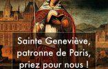 Abbé Petrucci : Sainte Geneviève, sauvez-nous !