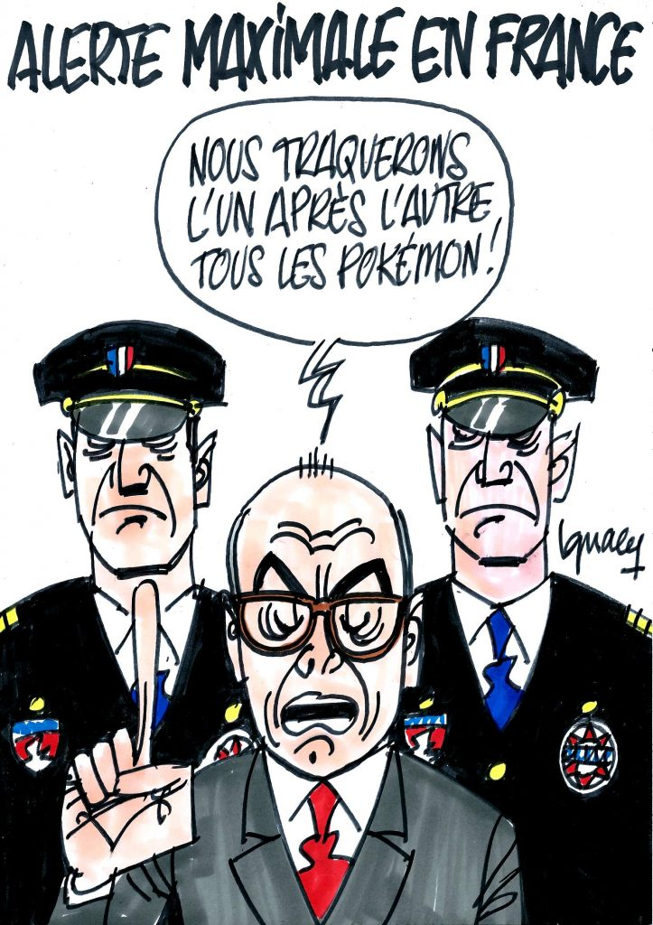 Ignace - Alerte maximale en France
