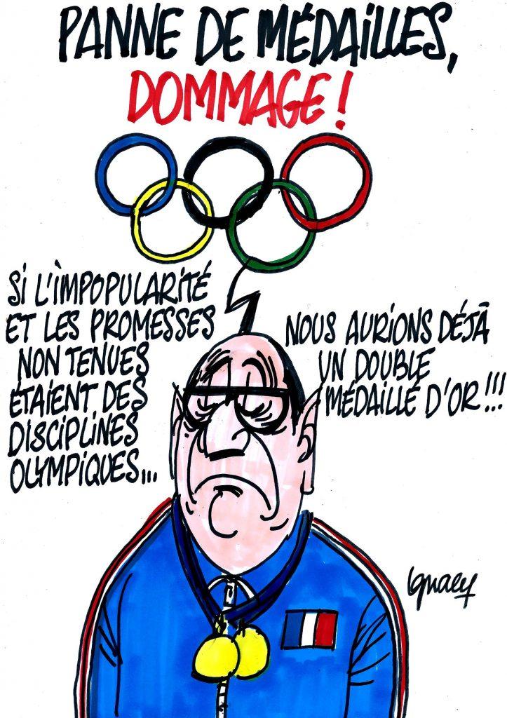 Ignace - La France en panne de médailles