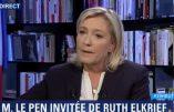 """Marine Le Pen s'exprime sur """"les racines chrétiennes de la France"""" et la plupart des autres sujets"""