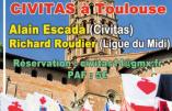 Civitas s'implante en Occitanie et vous attend à Toulouse le 25 mars 2017