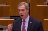 Immigration, CETA, mondialisme : l'aveuglement des eurodéputés dénoncé par Nigel Farage