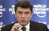 """Les médias israéliens préparent le terrain pour deux reportages à la gloire de feu Boris Nemtsov, """"politicien juif anti-Poutine"""""""