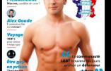 Macron en couverture d'un magazine homosexuel