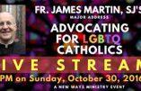 Vatican gay-friendly: le père Martin, militant lgtb, nommé par le pape comme consultant auprès du Secrétariat pour la communication