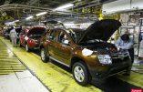 5 % des voitures vendues dans le monde sont françaises