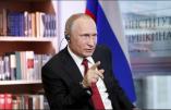 Interview intégrale de Vladimir Poutine au Figaro lors de sa visite en France le 30 mai 2017