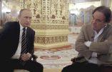 """Quatre heures de """"Conversation avec M. Poutine"""", l'excellent film d'Oliver Stone sur France 3 mercredi et jeudi prochains"""