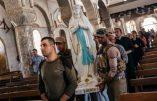 Les villages chrétiens d'Irak retrouvent les statues de la Sainte Vierge