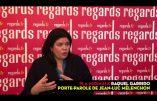 Raquel Garrido, porte-parole de Mélenchon, devient chroniqueuse télé dans la nouvelle émission hebdomadaire d'Ardisson