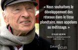 Chronique de l'anti-France : citation d'Edgar Morin