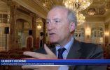 Dîner maçonnique au Sénat autour de l'ancien ministre Hubert Védrine