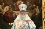 """Le patriarche de Moscou explique l'incohérence intrinsèque à la devise républicaine: """"liberté, égalité, fraternité""""."""