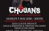 """5 mai 2018 au Vendéspace – """"Chouans"""", le nouveau spectacle d'Alan Simon"""