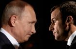 """Poutine met en garde Macron contre tout """"acte irréfléchi et dangereux"""" en Syrie"""