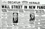 Retour sur le krach boursier de 1929