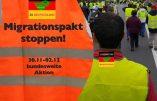 Allemagne – Le gilet jaune repris comme symbole de la lutte contre la politique migratoire de Merkel
