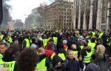 Bruxelles : nouveaux affrontements entre gilets jaunes et policiers