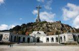 Le général Franco reste à la Valle de los Caidos