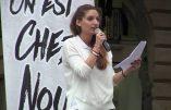 Anaïs Lignier (Génération Identitaire) mise en examen et placée sous contrôle judiciaire pour une action du mouvement à laquelle elle n'a pas participé !