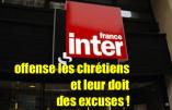 L'antichristianisme de France Inter après l'incendie de Notre-Dame de Paris