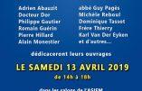 13 avril 2019 – Vente de livres organisée par les amis d'Alain Pascal