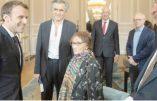 """Le déjeuner entre Macron, BHL et de """"grands intellectuels""""…"""